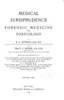 Medical Jurisprudence  Forensic Medicine and Toxicology PDF