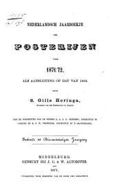 Nederlandsch jaarboekje der Posterijen voor ....: Volume 8