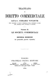 Trattato di diritto commerciale: Volume 2