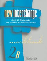 New Interchange Workbook 2B PDF