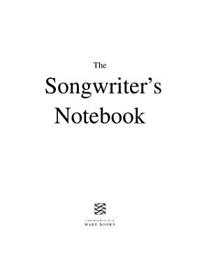 The Songwriter s Notebook PDF