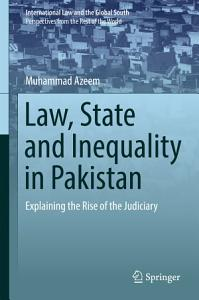 Law  State and Inequality in Pakistan PDF