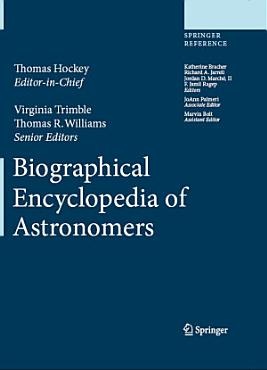 Biographical Encyclopedia of Astronomers PDF