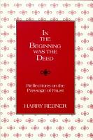 In the Beginning was the Deed PDF