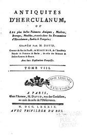 Antiquités d'Herculanum: Volume8
