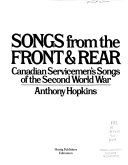 Songs from the Front   Rear PDF