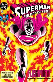 Superman: The Man of Steel (1991-) #11