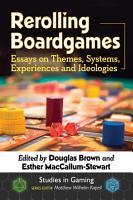Rerolling Boardgames PDF