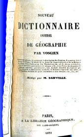 Nouveau dictionnaire universel géographique