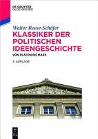 Klassiker der politischen Ideengeschichte PDF