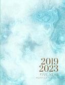 2019-2023 Five Year Planner Blue Marble Goals Monthly Schedule Organizer