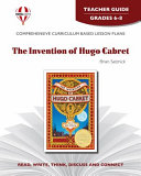 The Invention of Hugo Cabret Teacher Guide Book
