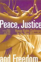Peace  Justice and Freedom PDF