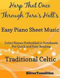 Harp That Once Through Tara s Halls Easy Piano Sheet Music PDF