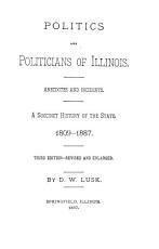 Politics and Politicians of Illinois PDF