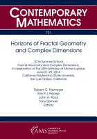 Horizons of Fractal Geometry and Complex Dimensions PDF