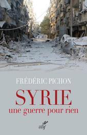 Syrie, une guerre pour rien