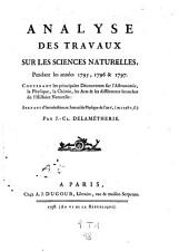 Observations et memoires sur la physique, sur l'histoire naturelle, et sur les arts et metiers. - Paris 1773-1823