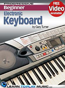 Electronic Keyboard Lessons for Beginners Book