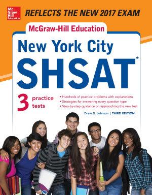 McGraw Hill Education New York City SHSAT  Third Edition PDF