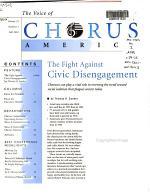 The Voice of Chorus America PDF