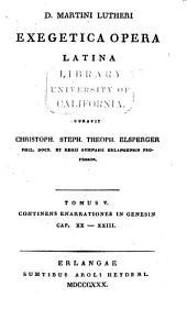 Exegetica opera Latina: Volumes 5-6