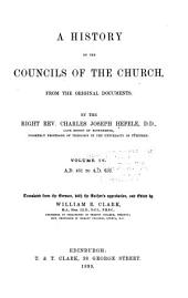 A History of the Councils of the Church, from the Original Documents: Volume 4