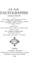 Un nid d'autographes: lettres inédites de Haydn, Chérubini, Méhul, Boieldieu, Ferdinand Ries ... deux circulaires de Chérubini, Méhul, Kreutzer, Rode, Isouard et Boieldieu, marchands de cordes de Naples