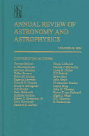 Annual Review of Astronomy and Astrophysics PDF