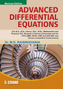 Advanced Differential Equations PDF
