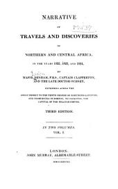 Narrative of travels and discoveries in Northern and Central Africa: in the years 1822, 1823, and 1824, Volume 1