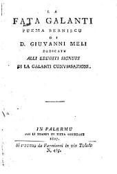 La Fata galanti puema Berniscu. - Palermu, Giurdanu 1807