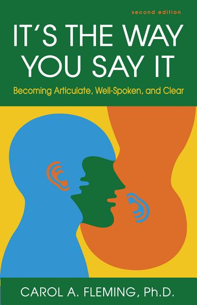 Download It s the Way You Say it Book