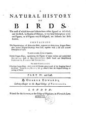 A Natural History of Birds... by George Edwards...