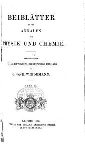 Annalen der Physik: Beiblätter, Band 17