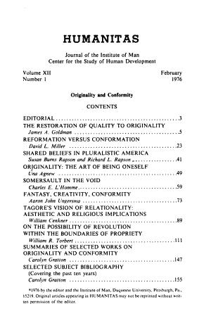 Humanitas PDF