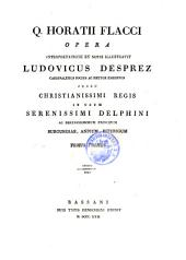 Opera, interpretatione et notis illustr. Ludovicus Desprez in usum Delphini. - Bassani, Remondini 1822