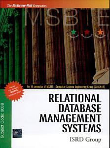 Rdbms Msbte PDF