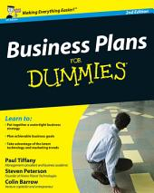Business Plans For Dummies: Edition 2