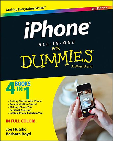 iPhone All in One For Dummies PDF