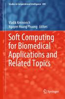 Soft Computing for Biomedical Applications and Related Topics PDF