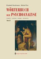 W  rterbuch der Psychoanalyse PDF
