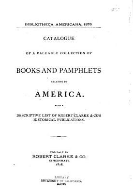 Bibliotheca americana  1878