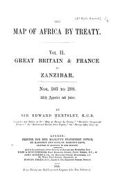 Great Britain & France to Zanzibar. Nos. 103-208, with appendix and index