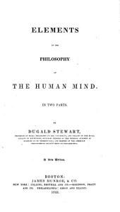 Elements of the Philosophy of the Human Mind