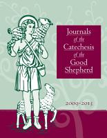 Journals of the Catechesis of the Good Shepherd 2009 2013 PDF