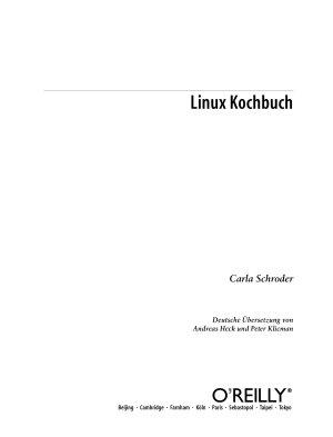 Linux Kochbuch PDF