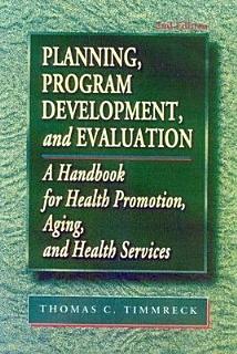 Planning  Program Development  and Evaluation Book