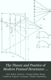 The Theory and Practice of Modern Framed Structures: Stresses in simple structure