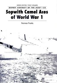 Sopwith Camel Aces of World War 1 PDF